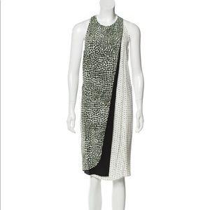 NWOT Stella McCartney Olive Printed Dress-38